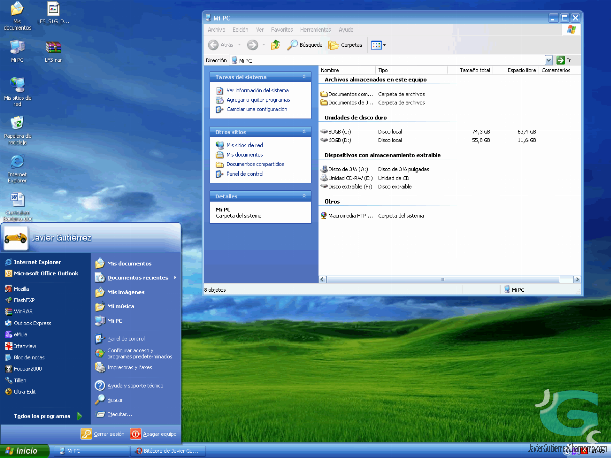Nuevo tema para Windows XP y 2003: Royale
