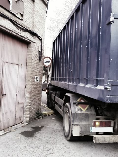 Prohibido camiones