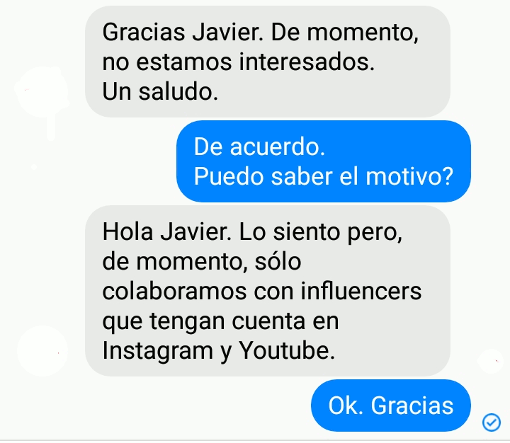 Yo no soy influencer