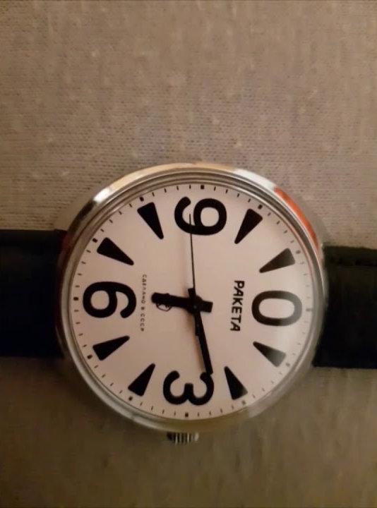 El tic tac de un reloj