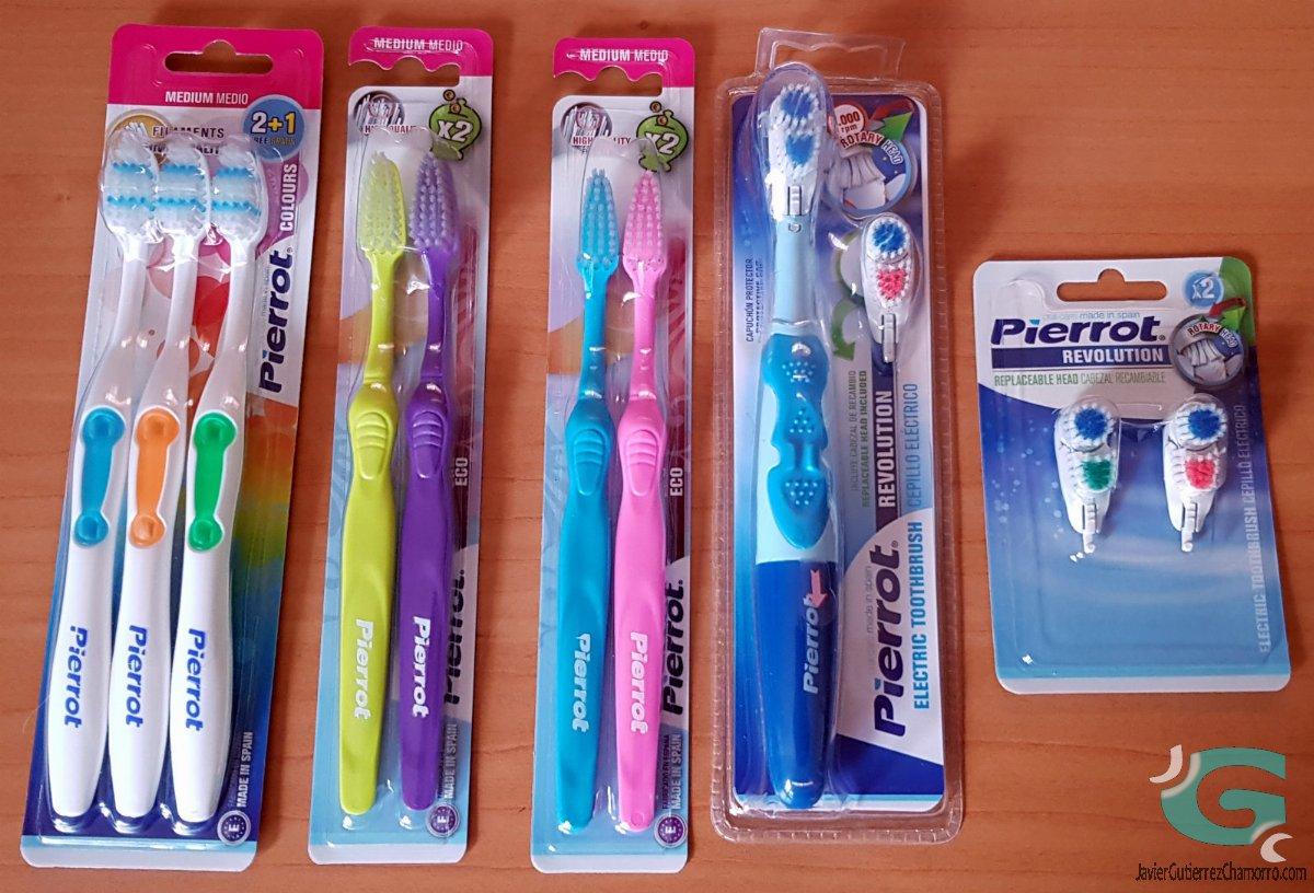 Pierrot Oral Care. Cepillos de dientes